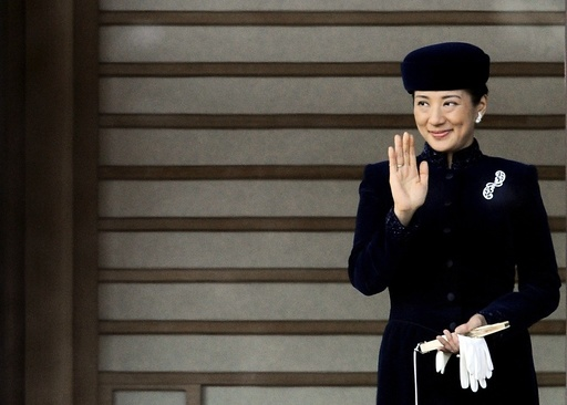Emperor Akihito greets public on 75th birthday