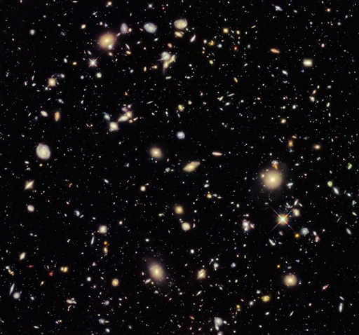 Hubble Ultra Deep Field 2012