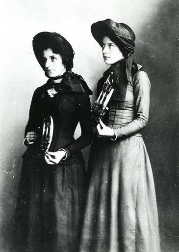 Weibliche Mitglieder Heilsarmee, USA / Foto 1891 - -