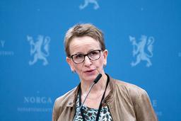 Statens forhandlingsleder Viil Søyland legger tirsdag fram kravet i jordbruksoppgjøret. Foto: Gorm Kallestad / NTB