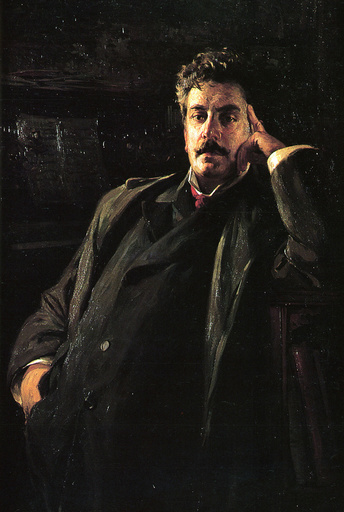 Portrait of the Composer Giacomo Puccini (1858-1924), 1903.