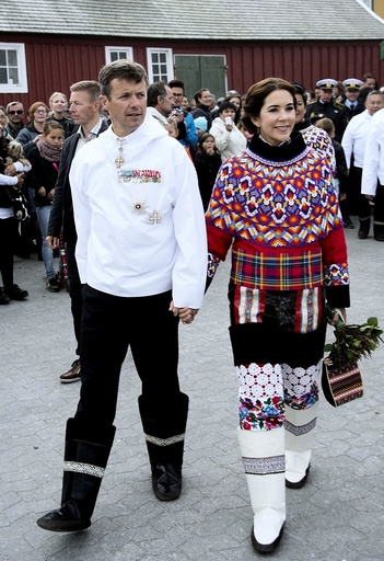 Crown Prince Frederik and Crown Princess Mary in Greenland