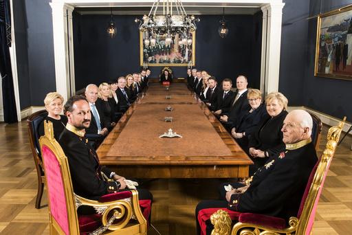 Statsråd på Slottet