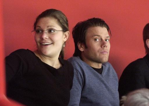 Crownprincess Victoria and her boyfriend Daniel Westling  CROWN PRINCESS
