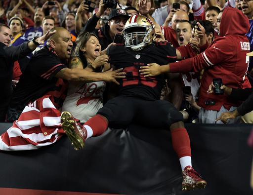 NFL: Minnesota Vikings at San Francisco 49ers