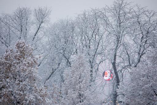 Årets første snøfall