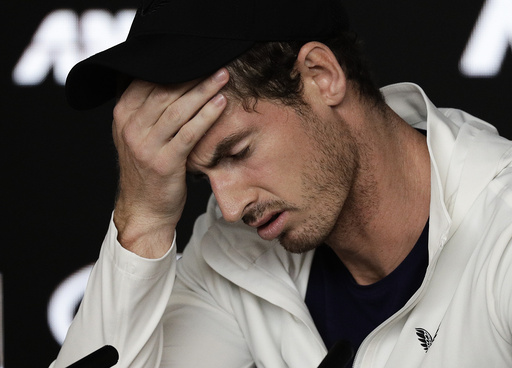 Andy Murray er smittet av koronaviruset. Foto: Kin Cheung / AP / NTB