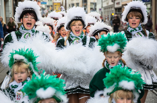 Carnival begins in Erfurt