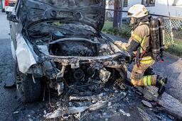 Oslo-politiet sliter med å oppklare bilbranner som antas å være påstått. Foto: Terje Pedersen / NTB