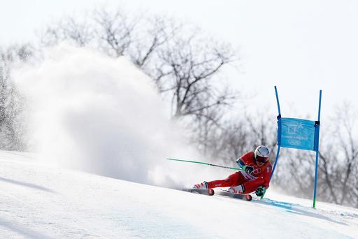 Vinter-OL. Olympiske leker i Pyeongchang 2018. Storslalåm Menn