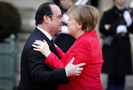 France Germany Spain Italy summit in Versailles