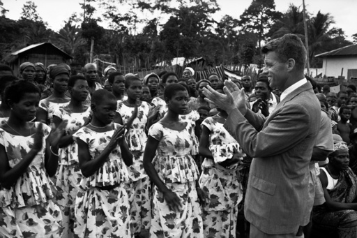 IVORY COAST. Abidjan. Independence celebrations. 1960.