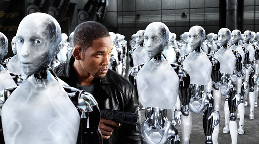 WILL SMITH in I, ROBOT (2004), directed by ALEX PROYAS.