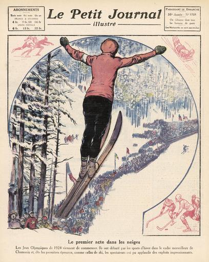 OLYMPICS/1924/CHAMONIX