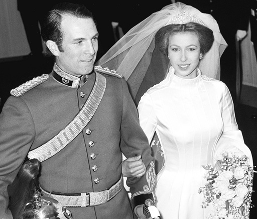 Royalty - Princess Anne and Captain Mark Phillips Wedding - London