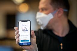 Smittestopp-appen har nå rundet 1 million nedlastinger.  Foto: Heiko Junge / NTB