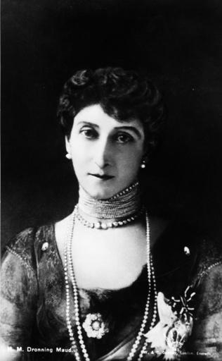 Königin Maud von Norwegen / Foto 1905 - Queen Maud of Norway / Photo 1905 -