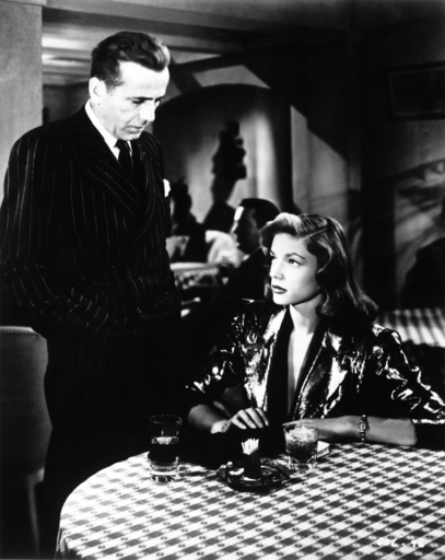 Humphrey Bogart in 'Tote schlafen fest' - Humphrey Bogart / 'The Big Sleep' / 1946 - Film : 'Le grand sommeil' (The Big Sleep). (USA 1946