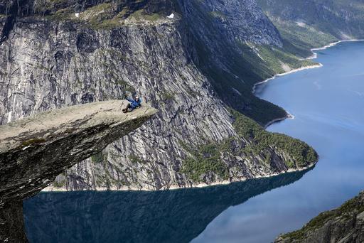 Turist på Trolltunga. Arkivfoto: Tore Meek / NTB scanpix
