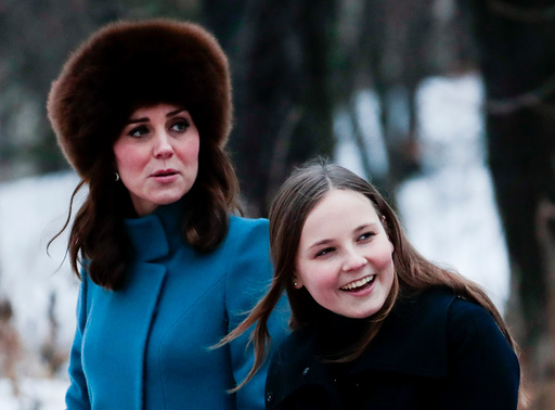 Prins William og hertuginne Catherine av Cambridge på offisielt besøk i Norge.