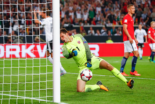 VM-kvalifisering fotball menn: Tyskland - Norge (6-0)