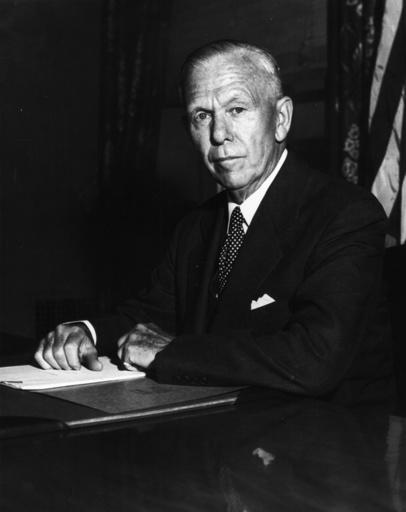 George C.Marshall,Porträtaufnahme 1955 - George C.Marshall / Portrait Photo 1955 - George C.Marshall, Portrait photographique 1955