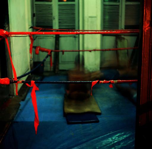 BRAZIL. Rio de Janeiro. Santa Rosa Boxing Club. 1993.