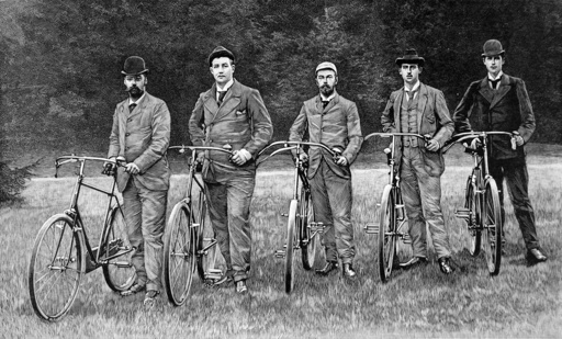 Imperial and Royal Cyclists, 1894.