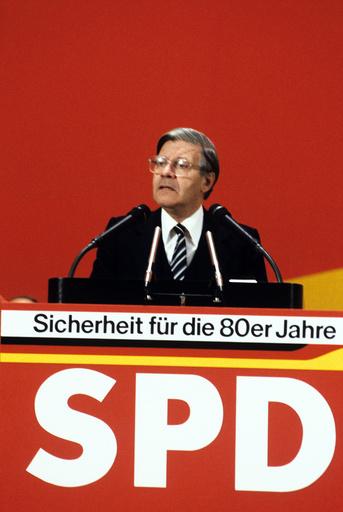 SPD party congress 1979 in Berlin