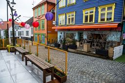De fire kommunene på Nord-Jæren viderefører de strenge lokale tiltakene. Bildet er fra Stavanger. Foto: Carina Johansen / NTB