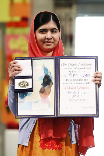 Norway: Kailash Satyarthi and Malala Yousafzai receive the Nobel Peace Price