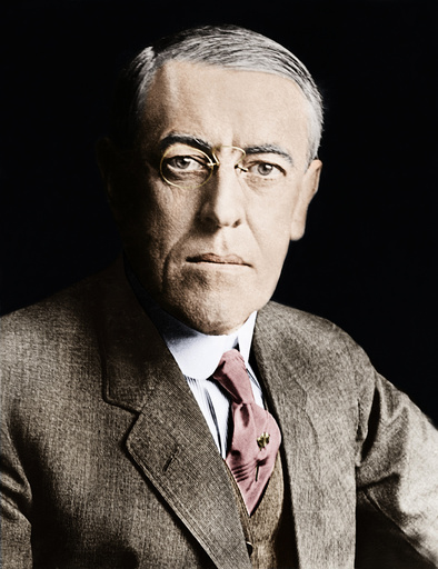 Woodrow Wilson / Foto - Woodrow Wilson / Portrait photo. -
