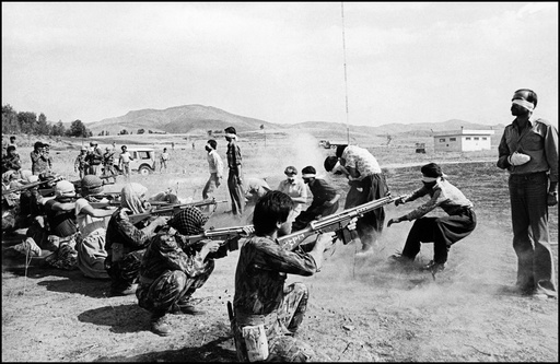 IRAN. Kurdistan. 1979. Executions at Sanandaj Airport.