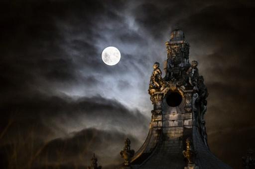 Moon over Budapest