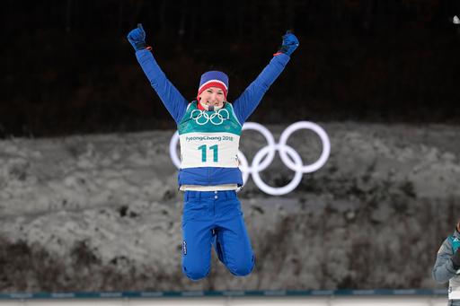 Vinter-OL. Olympiske leker i Pyeongchang 2018. Skiskyting kvinner.