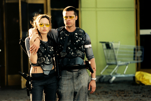 MR. AND MRS. SMITH, Angelina Jolie, Brad Pitt, 2005, TM & Copyright © 20th Century Fox Film Corp. Al