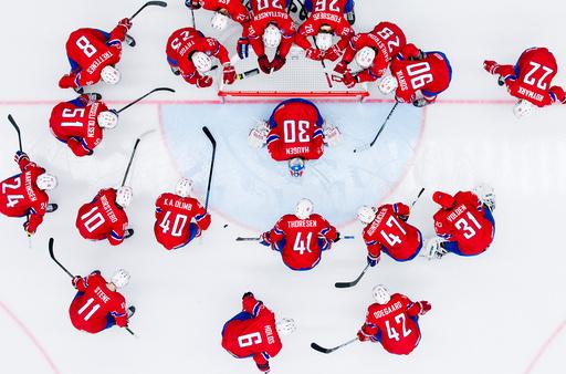 Ishockey-VM: Slovenia - Norge (1-3)