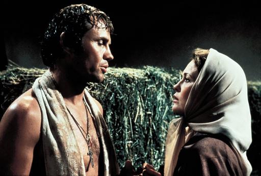 CHAMP, THE (1979), directed by FRANCO ZEFFIRELLI. FAYE DUNAWAY; JON VOIGHT.