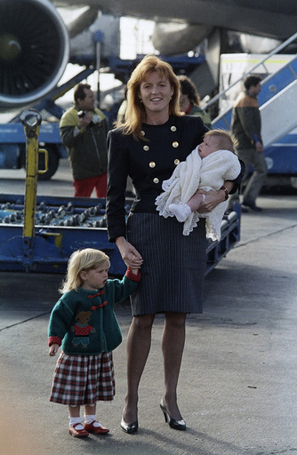 Princess Sarah Ferguson, Princess Beatrice , Princess Eugenie