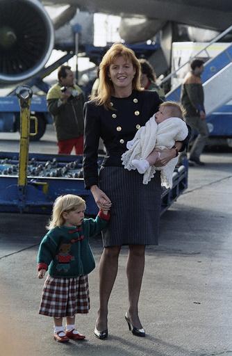 Princess Sarah Ferguson, Princess Beatrice , Princess Eugenie