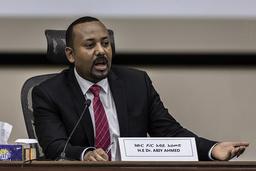 Etiopias statsminister Abiy Ahmed, som i 2019 mottok Nobels fredspris, innledet i november en stor militæroffensiv i Tigray, rettet mot Tigray-folkets frigjøringsfront (TPLF). Foto: AP / NTB