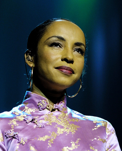SINGER SADE IS AWARDED AN OBE IN THE QUEEN'S NEW YEAR'S HONOURS LIST
