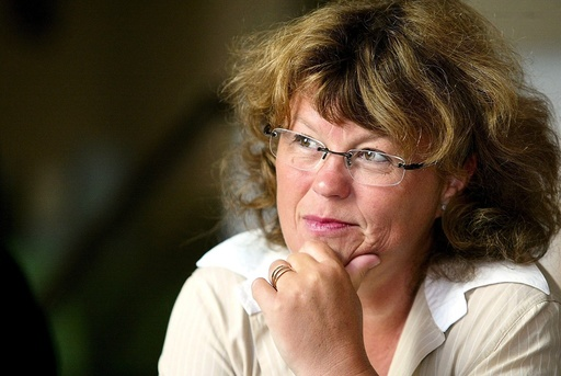 NORWEGIAN WRITER AND FORMER MINISTER OF JUSTICE, ANNE HOLT,