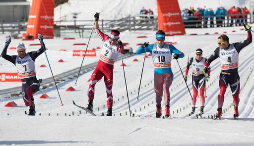 Holmenkollen skifestival. 50 km menn