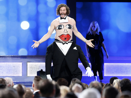 Show host TJ Miller is introduced at the 22nd Annual Critics' Choice Awards in Santa Monica
