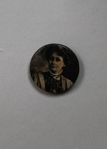 Suffragette W.S.P.U Badge Emmeline Pankhurst
