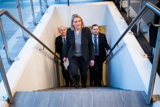 Sylvi Listhaug ferdig som justisminister.