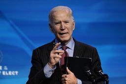 Joe Biden tar helst toget mellom hjembyen Wilmington og hovedstaden Washington, men av hensyn til sikkerheten må han velge et annet transportmiddel når han skal tas i ed som president. Foto: Susan Walsh / AP / NTB