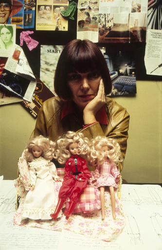 Mary Quant and her Daisy Dolls