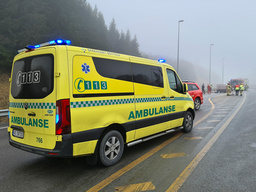 En kvinne i 80-årene døde etter en frontkollisjon i Indre Østfold tirsdag. Foto: Freddie Larsen / NTB